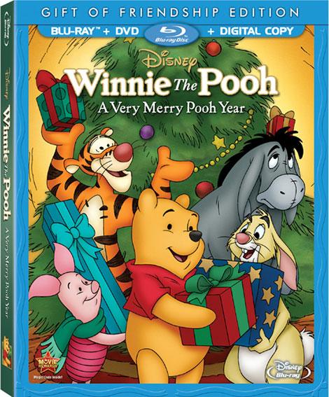 دانلود انیمیشن Winnie the Pooh: A Very Merry Pooh Year 2002