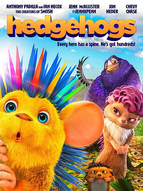 دانلود دوبله فارسی انیمیشن جوجه تیغی ها Hedgehogs 2016