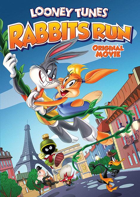 دانلود دوبله فارسی انیمیشن Looney Tunes: Rabbits Run 2015