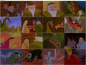 دانلود انیمیشن The Flight of Dragons 1982