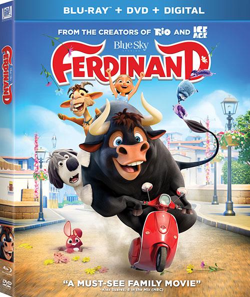دانلود دوبله فارسی انیمیشن فردیناند Ferdinand 2017