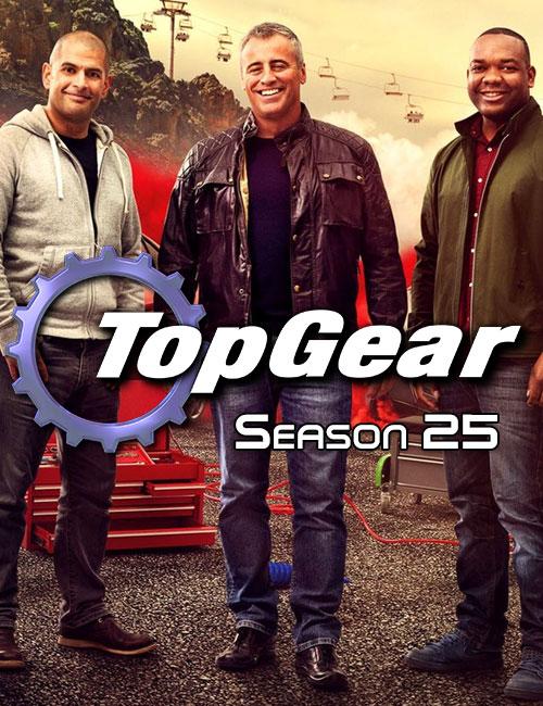 دانلود فصل بیست و پنجم تخت گاز Top Gear Season 25