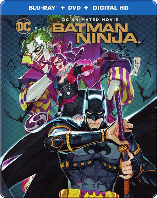 دانلود انیمیشن بتمن نینجا Batman Ninja 2018