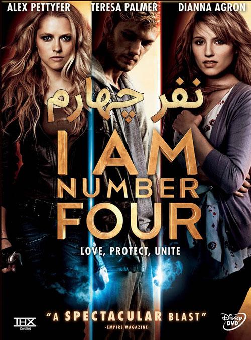 دانلود دوبله فارسی فیلم نفر چهارم I Am Number Four 2011