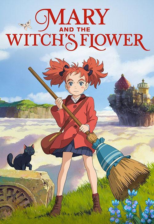 دانلود انیمیشن ماری و گل جادوگر Mary and The Witchs Flower 2017