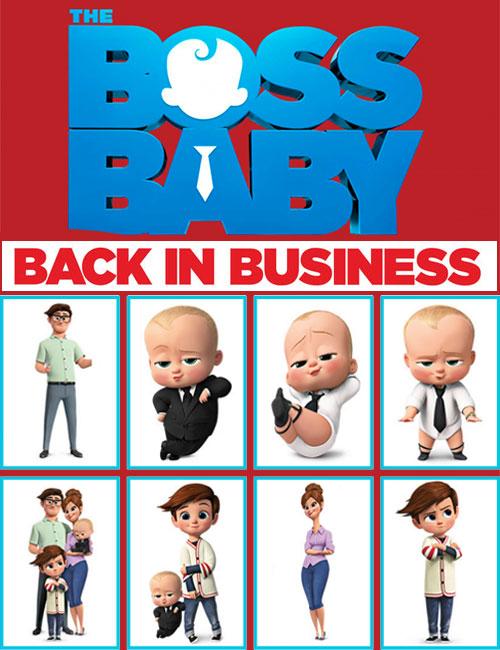 دانلود انیمیشن سریالی بچه رئیس The Boss Baby: Back in Business 2018