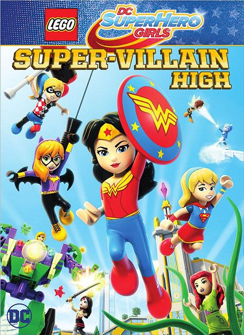 دانلود انیمیشن Lego DC Super Hero Girls Super-Villain High 2018