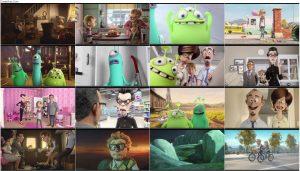 دانلود دوبله فارسی انیمیشن لوئیس و دوستان فضایی Luis and The Aliens 2018