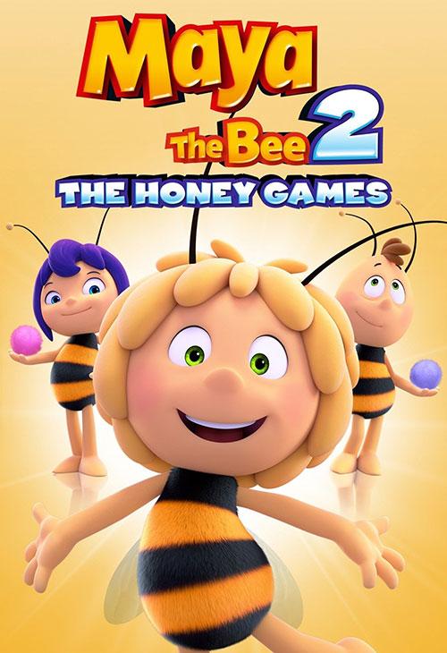 دانلود انیمیشن مایا زنبور عسل Maya the Bee: The Honey Games 2018