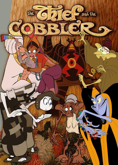 دانلود انیمیشن دزد و پینه دوز The Thief and the Cobbler 1993