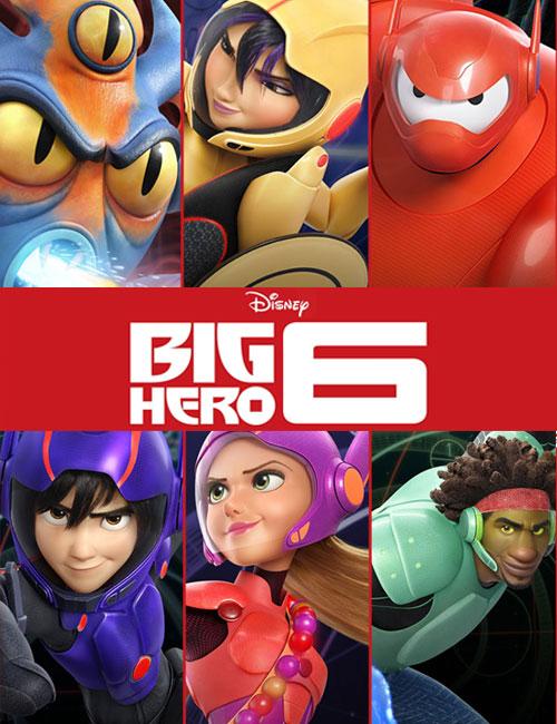 دانلود دوبله فارسی انیمیشن 6 ابرقهرمان Big Hero 6 The Series 2017