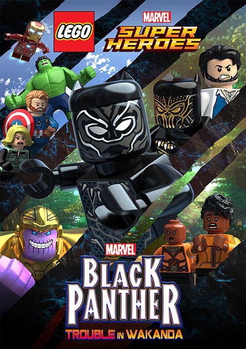 دانلود انیمیشن Black Panther: Trouble in Wakanda 2018