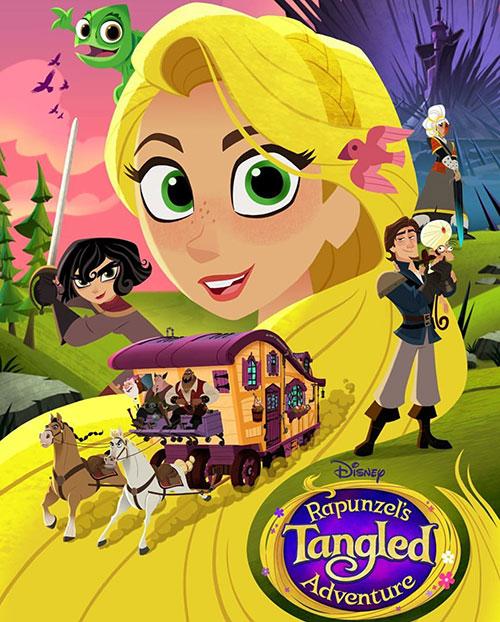 دانلود فصل دوم انیمیشن گیسو کمند Rapunzel's Tangled Adventure 2017