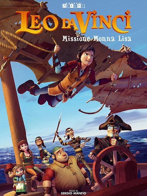 دانلود انیمیشن لئو داوینچی: ماموریت مونا لیزا Leo Da Vinci: Mission Mona Lisa 2018