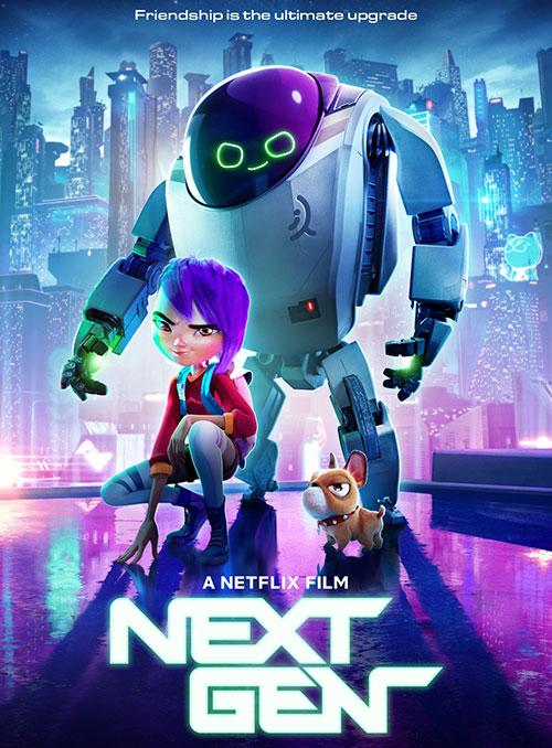 دانلود دوبله فارسی انیمیشن نسل جدید Next Gen 2018
