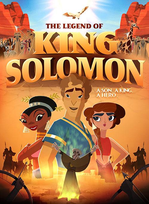 دانلود انیمیشن افسانه سلطان سلیمان The Legend of King Solomon 2018