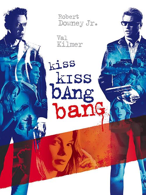 دانلود دوبله فارسی فیلم بوس بوس بنگ بنگ Kiss Kiss Bang Bang 2005