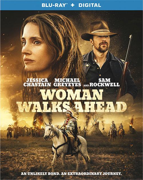 دانلود دوبله فارسی فیلم زنان پیشرو هستند Woman Walks Ahead 2017