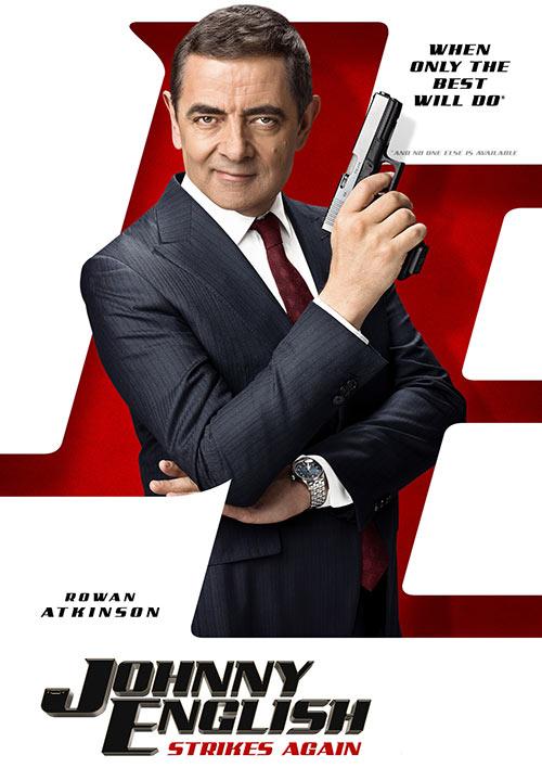 دانلود دوبله فارسی فیلم جانی اینگلیش بار دیگر ضربه می زند Johnny English Strikes Again 2018