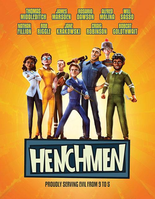 دانلود انیمیشن هنچمن Henchmen 2018