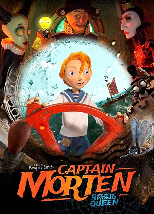 دانلود انیمیشن کاپیتان مورتین و ملکه عنکبوتی Captain Morten and the Spider Queen 2018