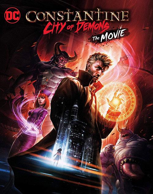 دانلود دوبله فارسی انیمیشن کنستانتین: شهر شیاطین Constantine City of Demons 2018