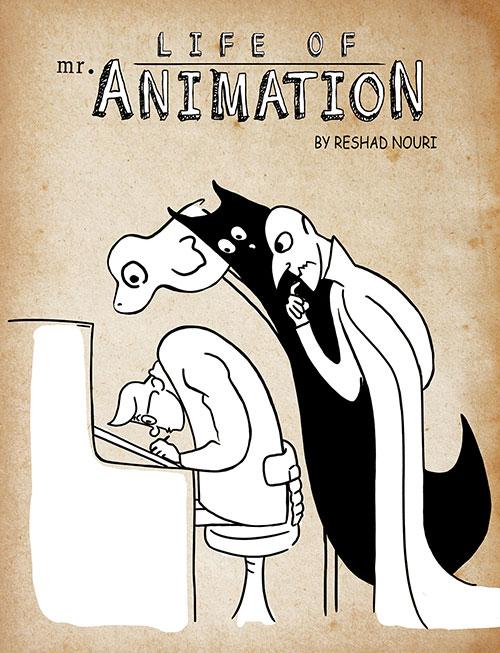 دانلود انیمیشن کوتاه زندگی آقای انیمیشن Life of Mr. Animation