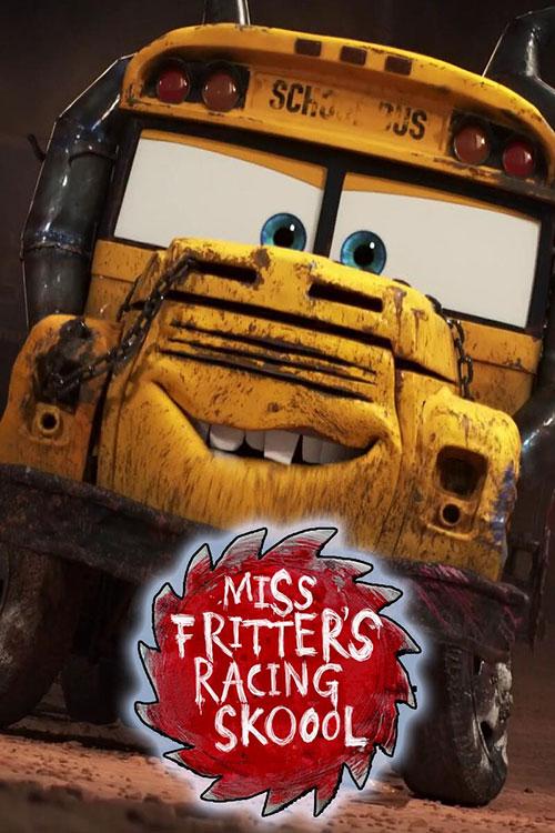 دانلود انیمیشن مدرسه رانندگی خانم فریتر Miss Fritter's Racing Skoool 2017