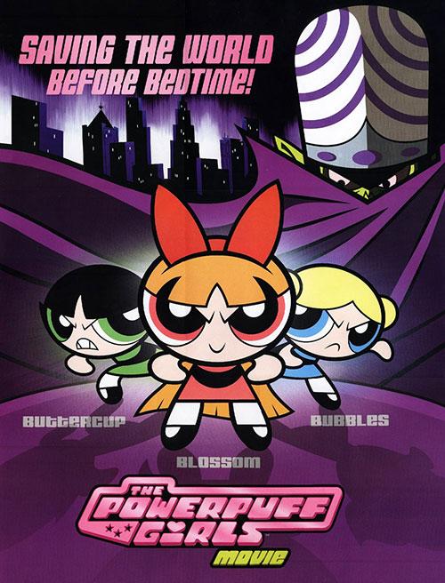 دانلود انیمیشن دختران نیرومند The Powerpuff Girls 2002