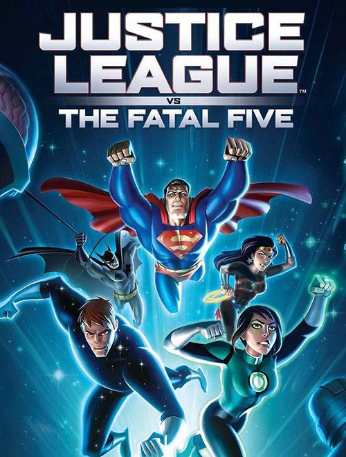 دانلود دوبله فارسی انیمیشن Justice League vs. the Fatal Five 2019