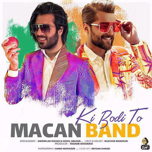 دانلود آهنگ کی بودی تو از ماکان بند Macan Band