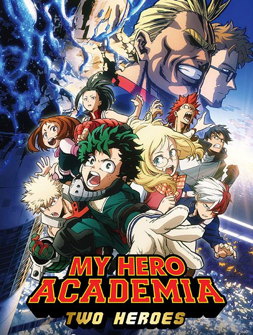 دانلود انیمیشن My Hero Academia: Two Heroes 2018