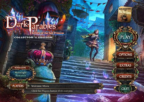 دانلود بازی Dark Parables 14: Return of the Salt Princess Collector's Edition
