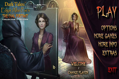 دانلود بازی Dark Tales 14: Edgar Allan Poe's The Oval Portrait Collector's Edition