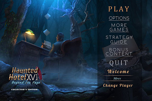 دانلود بازی Haunted Hotel 17: Beyond the Page Collector's Edition