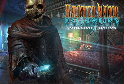 دانلود بازی Haunted Manor 5: Halloween's Uninvited Guest Collector's Edition