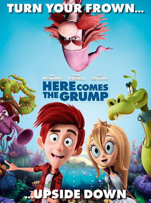 دانلود انیمیشن گرومپ اینجا میاد Here Comes the Grump 2019