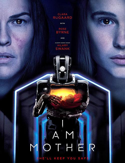 دانلود فیلم من مادر هستم با دوبله فارسی I Am Mother 2019