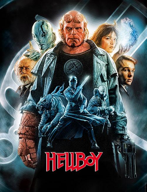 دانلود فیلم پسر جهنمی ۱ با دوبله فارسی Hellboy 2004