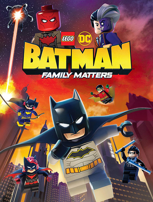دانلود انیمیشن LEGO DC: Batman - Family Matters 2019