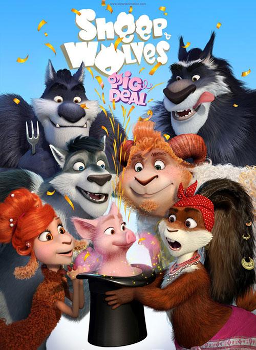 دانلود انیمیشن بره ها و گرگ ها Pig Deal 2019