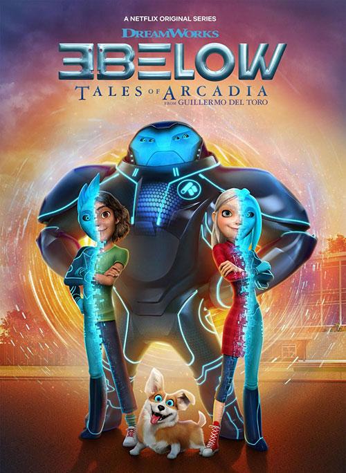دانلود فصل دوم انیمیشن سه فراری: داستانهای آرکیدیا 3Below: Tales of Arcadia