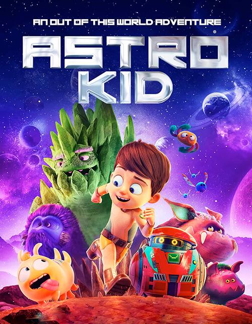 دانلود انیمیشن بچه فضایی با دوبله فارسی Astro Kid 2019