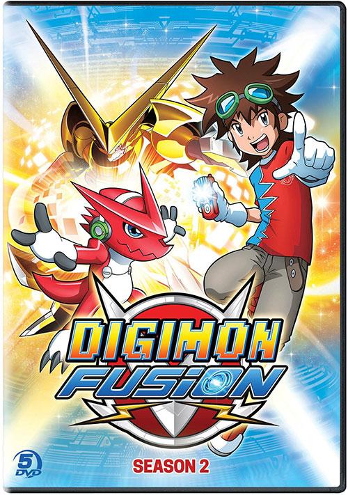 دانلود فصل دوم کارتون دیجیمون فیوژن Digimon Fusion 2015