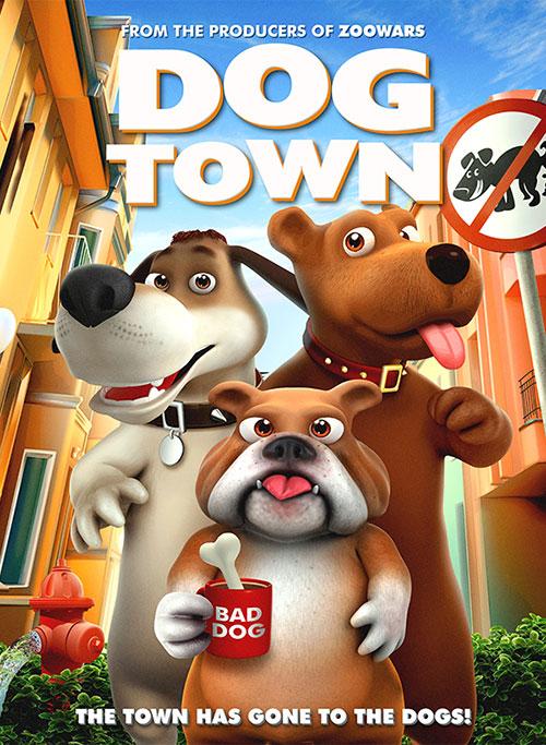 دانلود انیمیشن شهر سگ Dog Town 2019