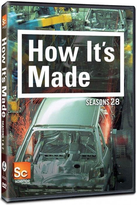 دانلود فصل بیست و هشتم مستند چگونه ساخته می شود How it's Made