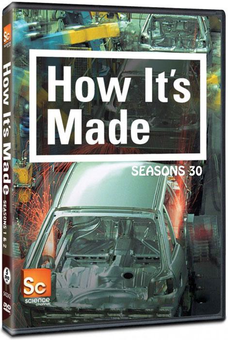 دانلود فصل سی ام چگونه ساخته می شود How it's Made