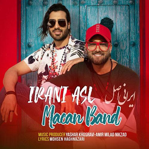 دانلود آهنگ جدید ماکان بند به نام ایرانی اصل