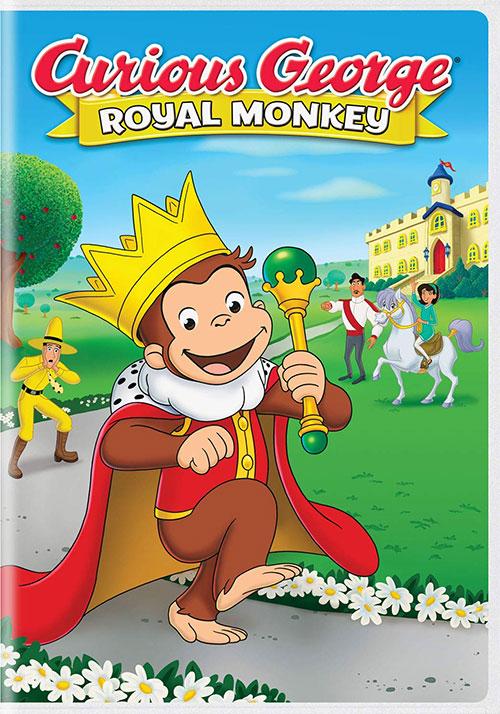 دانلود انیمیشن جرج کنجکاو: میمون سلطنتی Curious George: Royal Monkey 2019