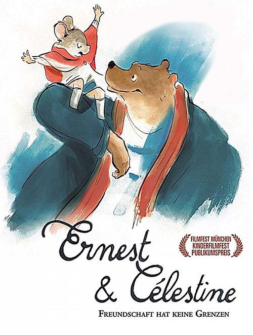 دانلود کارتون ارنست و سلستین با دوبله فارسی Ernest & Celestine 2012